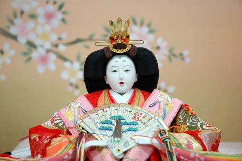 A Traditional Hina Matsuri Doll