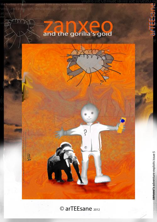zanxeo and the gorilla's gold