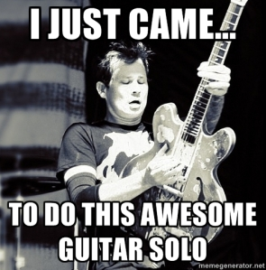 Yep, it's Tom DeLonge...