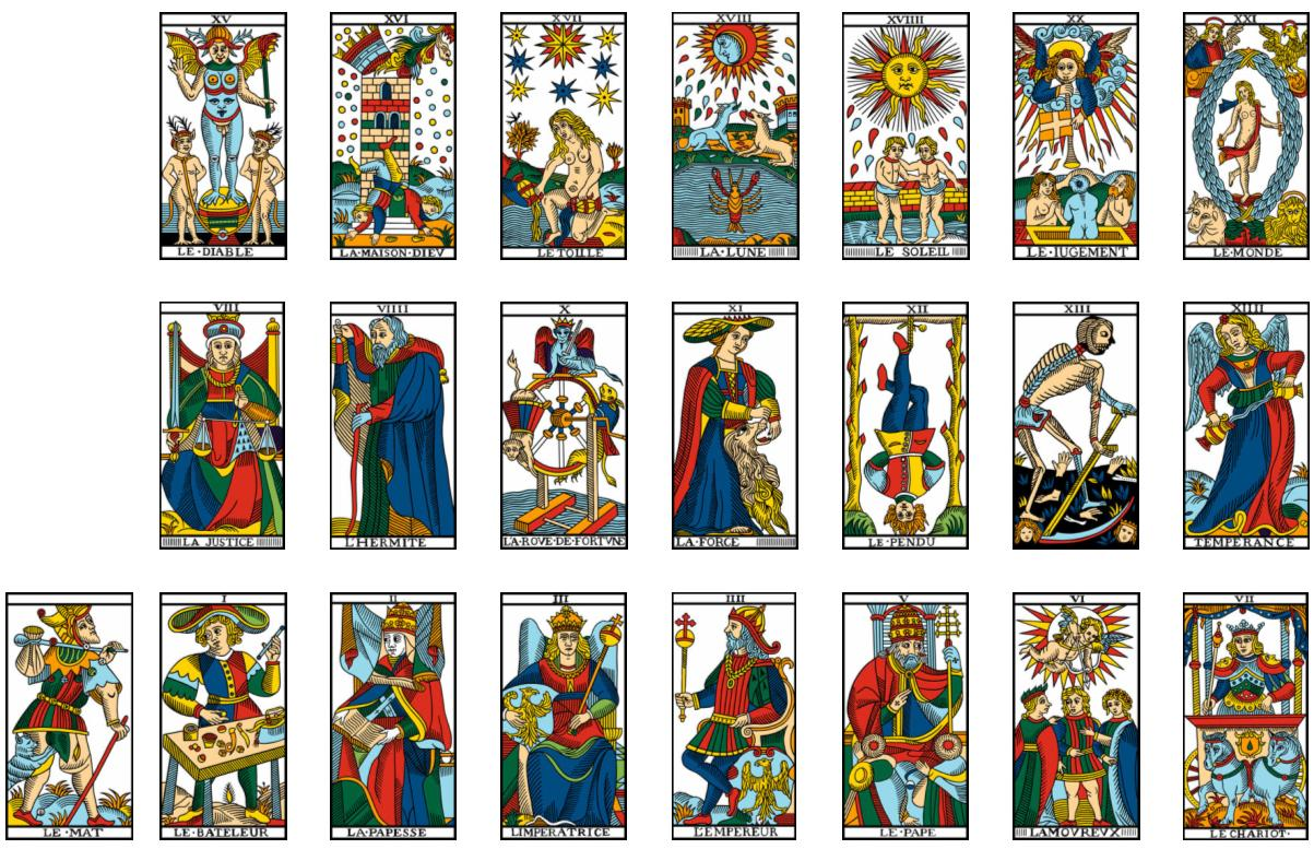 carte de tarot divinatoire Spill Challenge: Throw a mean tarot | The 'Spill