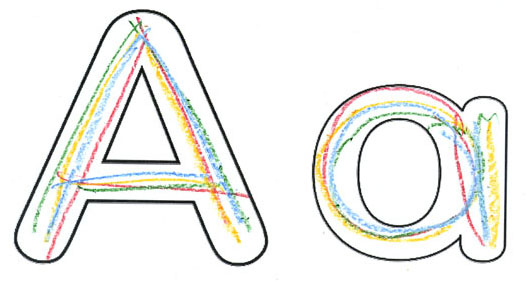 letter a cover