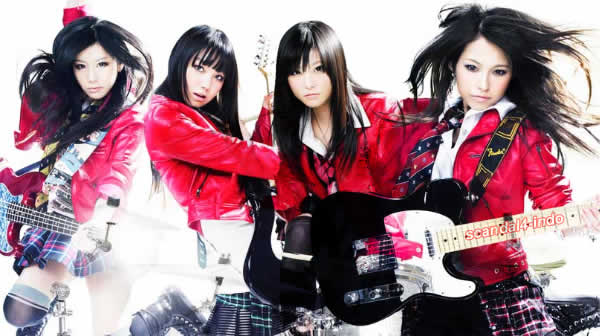 Scandal  - Japan's Best All Girl Pop Rock Band