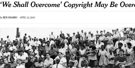 nytimes we shall overcome